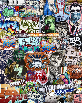Dream Graffiti Collage