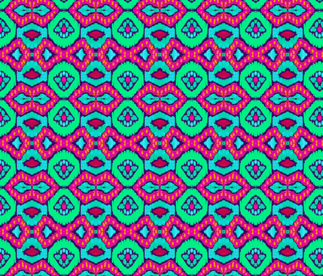 african romboid  fabric by katarina on Spoonflower - custom fabric