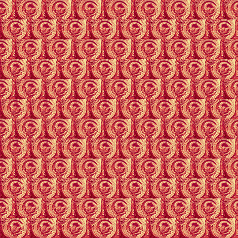 Year of the Snake fabric by amyvail on Spoonflower - custom fabric