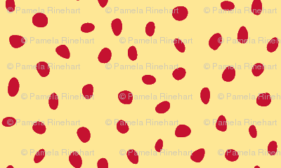 dalmatian red and neopolitan yellow