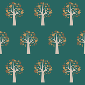 Autumn Leaves, singular tree