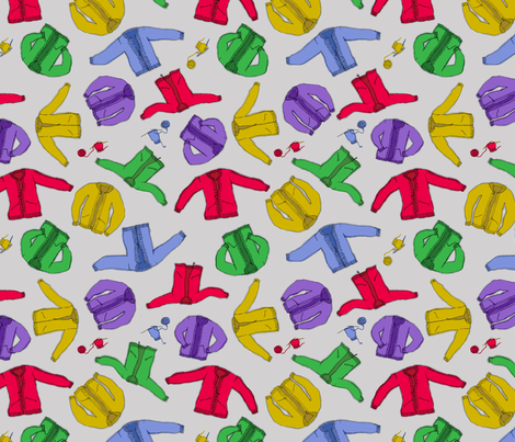 Mrs. Rogers fabric by beckarahn on Spoonflower - custom fabric