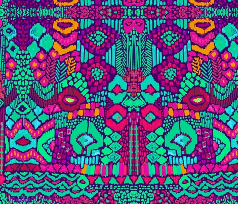 afro fabric by katarina on Spoonflower - custom fabric