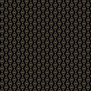 Deathly Hallows black and gold
