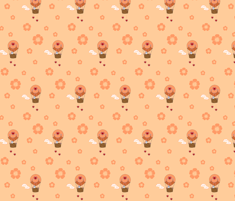 hotair balloon fabric by krs_expressions on Spoonflower - custom fabric