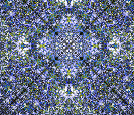 """Blue Chintz"" fabric by jeanfogelberg on Spoonflower - custom fabric"