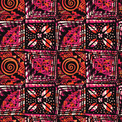 African Dreams fabric by kezia on Spoonflower - custom fabric