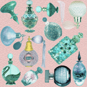 perfume bottles