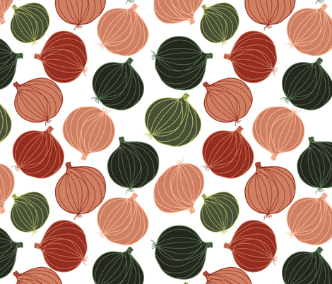 onions fabric by kociara on Spoonflower - custom fabric