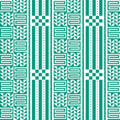 kijani tribal pattern