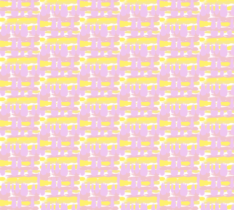 tulipweaveyellow fabric by loveisallaround on Spoonflower - custom fabric