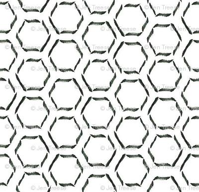 Calligraphy Honeycomb