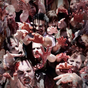 Zombie Horde - Walking Dead
