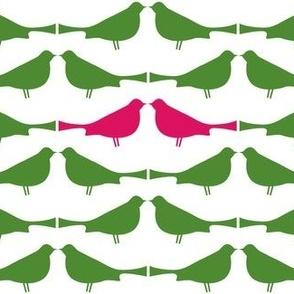 Tweeties -- pink/green
