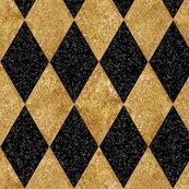 Rharlequin_diamonds___black_and_antique_gold_mosaic_ii_f__peacoquette_designs___copyright_2016_shop_thumb