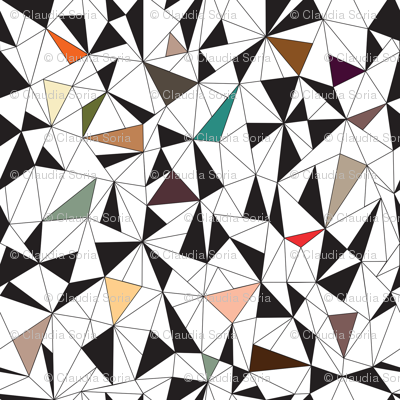 Triangles Colorful
