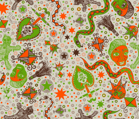 afrika fabric by sydama on Spoonflower - custom fabric