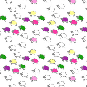impossible sheep pink