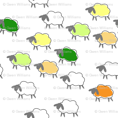 impossible sheep orange