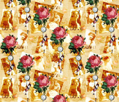 Keep Me Hanging On fabric by glanoramay on Spoonflower - custom fabric
