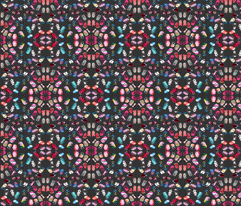 painted nails fabric by krs_expressions on Spoonflower - custom fabric