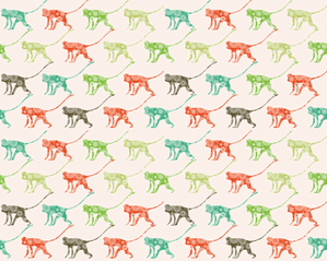 Monkeying Around fabric by ebygomm on Spoonflower - custom fabric