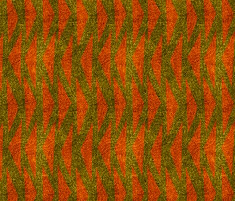 chevrons on green  fabric by vo_aka_virginiao on Spoonflower - custom fabric