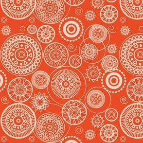 Orange Circles