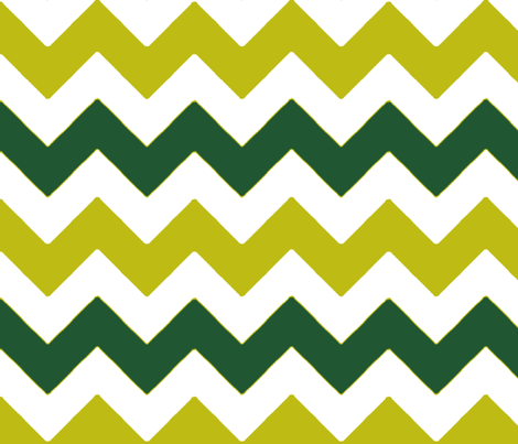 chevron_vert_vert_L fabric by nadja_petremand on Spoonflower - custom fabric