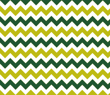 chevron_vert_vert_M fabric by nadja_petremand on Spoonflower - custom fabric