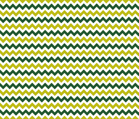 chevron_vert_vert_S fabric by nadja_petremand on Spoonflower - custom fabric
