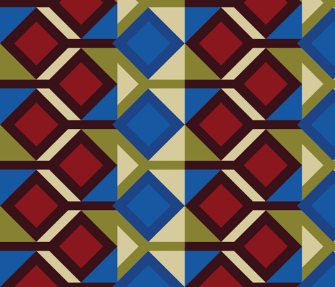 Camp Kajumba  fabric by carfino-hines on Spoonflower - custom fabric