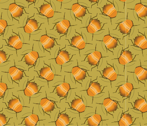 Roach! fabric by robinzstudio on Spoonflower - custom fabric