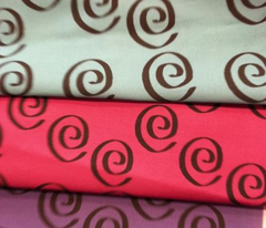 Purple Swirl Companion Fabric