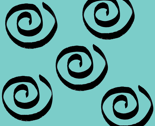 Teal Swirls Companion