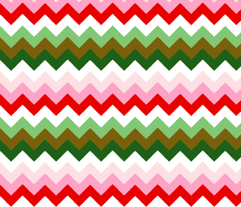 chevron_double_M fabric by nadja_petremand on Spoonflower - custom fabric