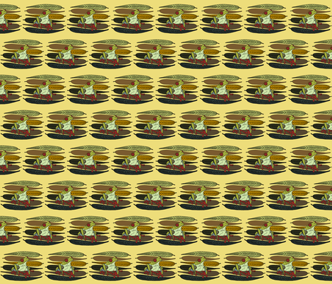 Ernie Eames fabric by thebumbleshackstudio on Spoonflower - custom fabric