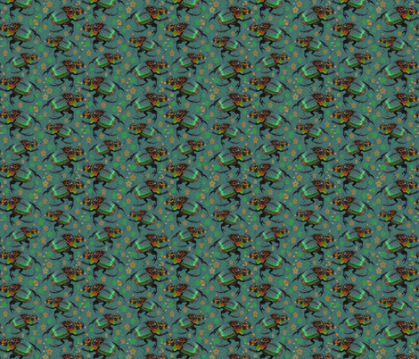 Beetle Beetles fabric by eclectic_house on Spoonflower - custom fabric