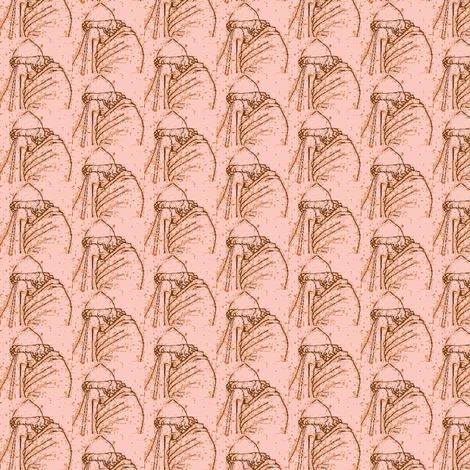 Odysseus weeps fabric by amyvail on Spoonflower - custom fabric