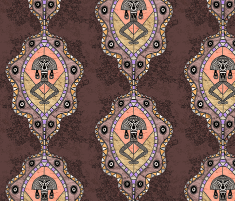 Victorian Africa fabric by fantazya on Spoonflower - custom fabric
