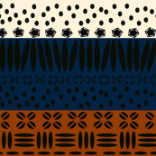 Kenya Star Earthy Stripe