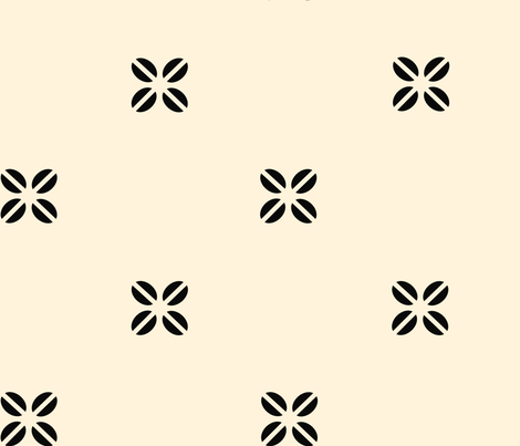 flower fabric by demouse on Spoonflower - custom fabric