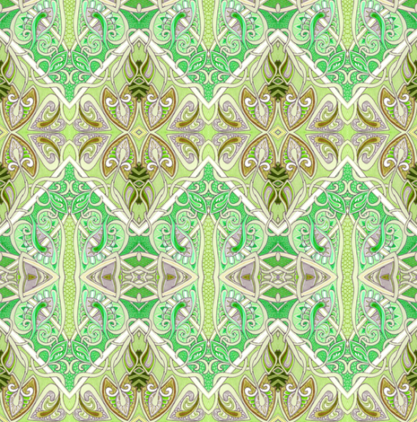 Fruit of De Vine (diagonal patchwork square spades) fabric by edsel2084 on Spoonflower - custom fabric