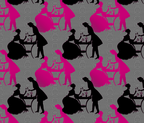 À Toi Toujours fabric by peacoquettedesigns on Spoonflower - custom fabric