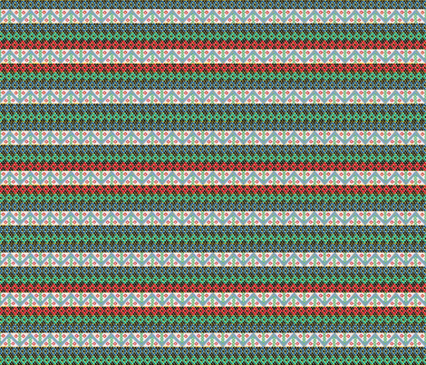 African_Zulu_Valentine_ Bead _Letter by Sylvie fabric by art_on_fabric on Spoonflower - custom fabric