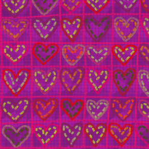 Hearts in stitches 1.