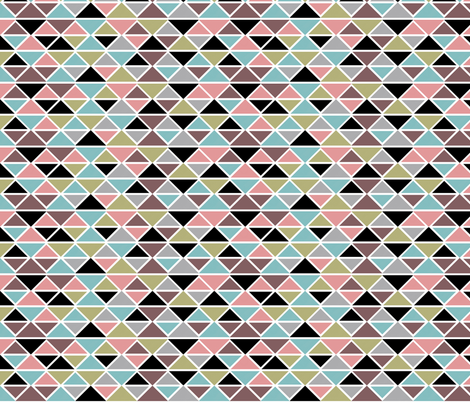 Black diamonds fabric by cine on Spoonflower - custom fabric