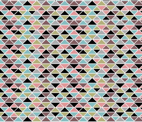 Black diamonds fabric by cine on Spoonflower - custom fabric