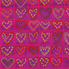 Hearts in stitches 4.
