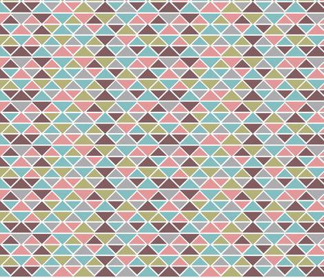 Colored diamonds fabric by cine on Spoonflower - custom fabric